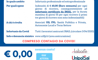 RC PROFESSIONALE E INFORTUNIO GRATUITA